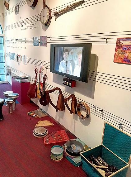 Музикалните инструменти в музея, гр. Амстердам, Нидерландия.